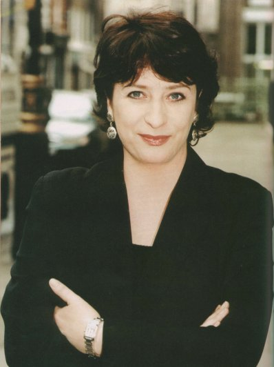 "Caroline Quentin.  Picture taken from the book, ""The World of Jonathan Creek"" by Steve Clark, copyright belongs to Capital Pictures."
